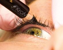 KroMED | Permanent Make-up Hamburg | Augen-Lider |Vorzeichnung der Oberlidpigmentierung | Lidstrich