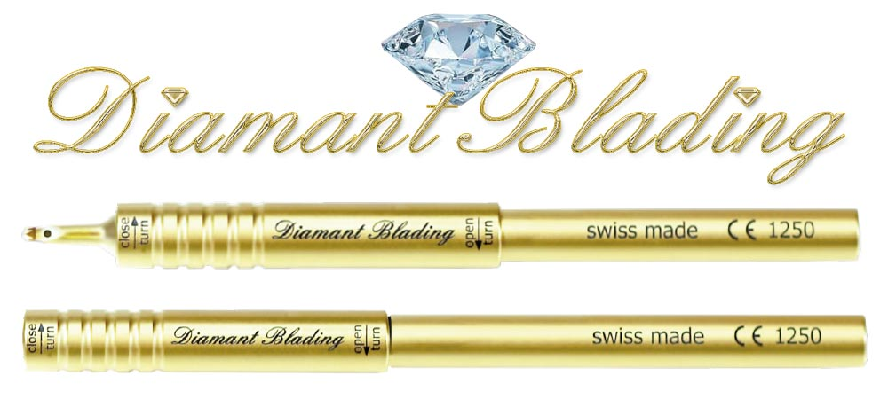 Diamant Blading| swiss made |Ihr Benefit dieser Methode