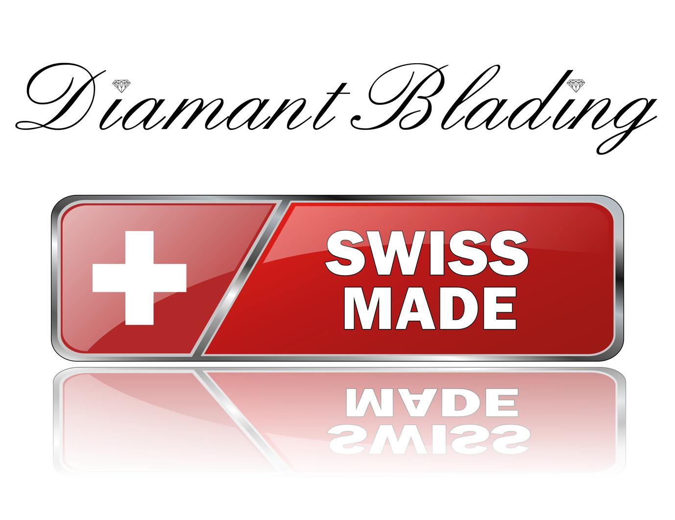 Diamant Blading KroMED | In der Schweiz entwickelte Handmethode aus einem medizinischem Präzisionsinstrument